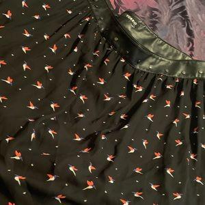 Torrid bird skirt